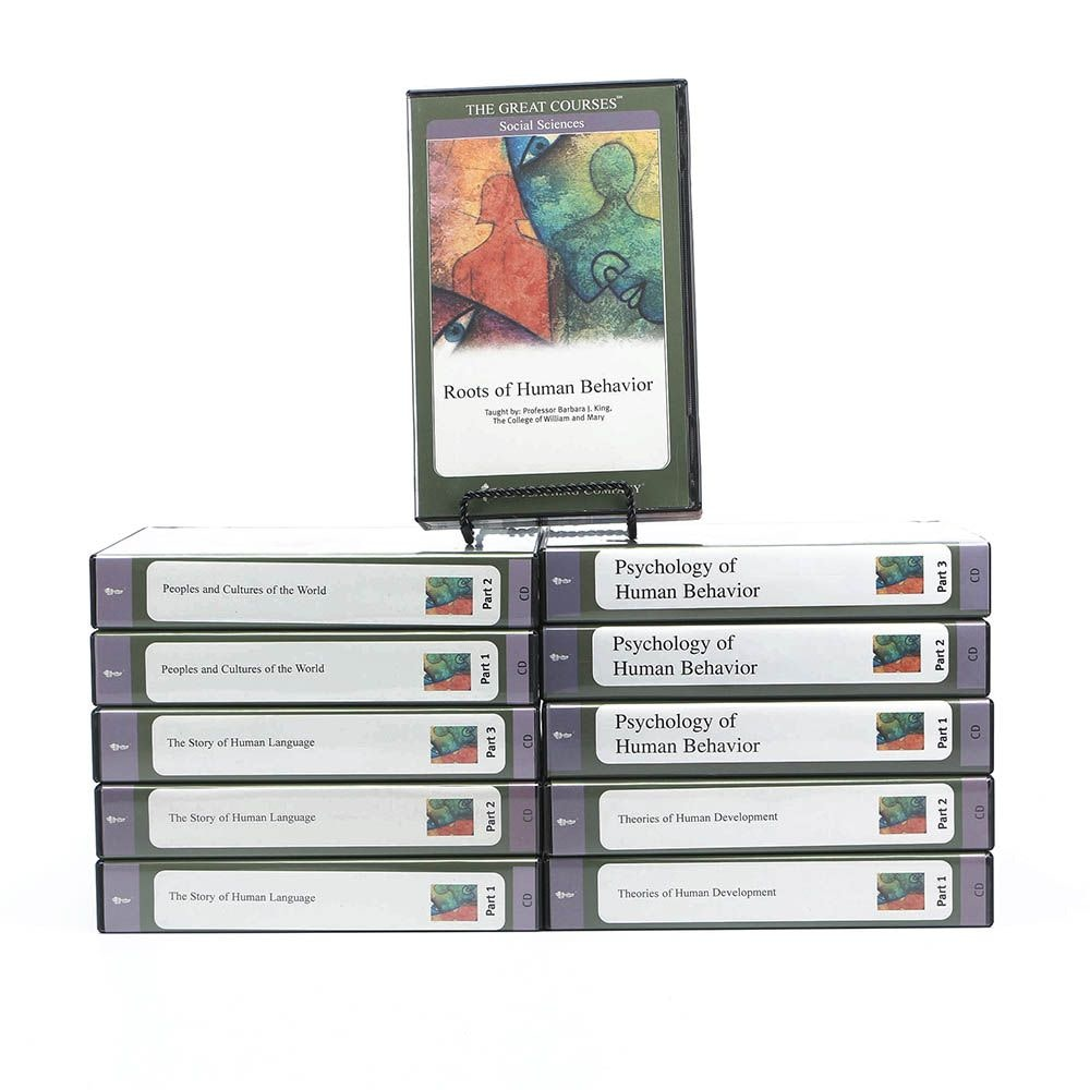 """The Teaching Company """"The Great Courses"""" Social Sciences CD Boxed Sets"""