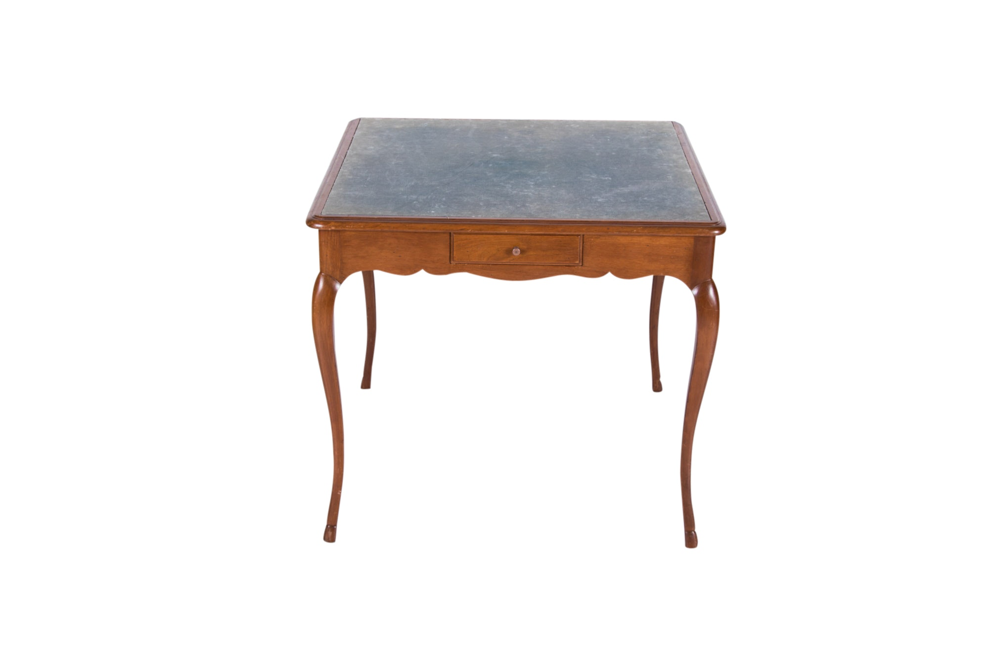 French Provincial Style Fruitwood Games Table, 20th Century
