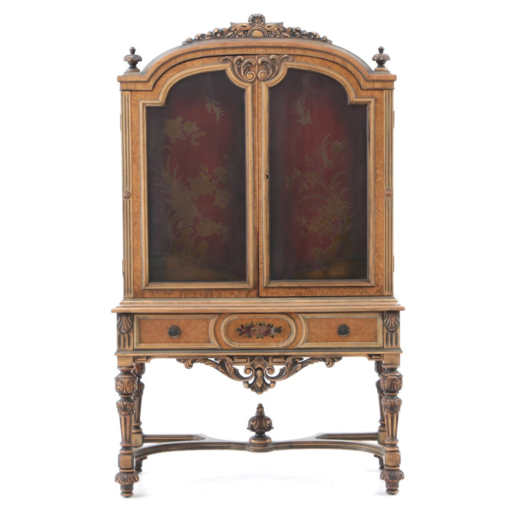 Vintage Baroque Style Cabinet by Berkey & Gay