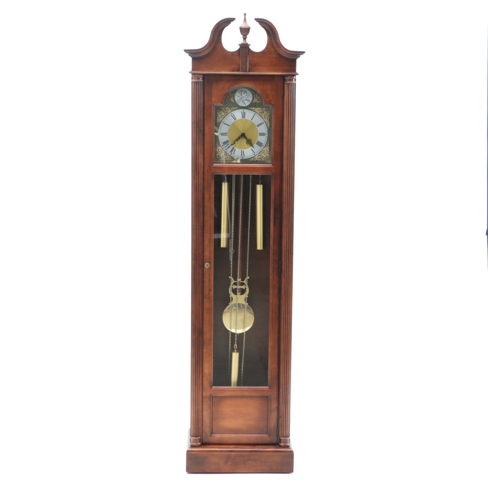 Howard Miller Grandfather Clock, Owned by Radio Pioneer Clyde Haehnle