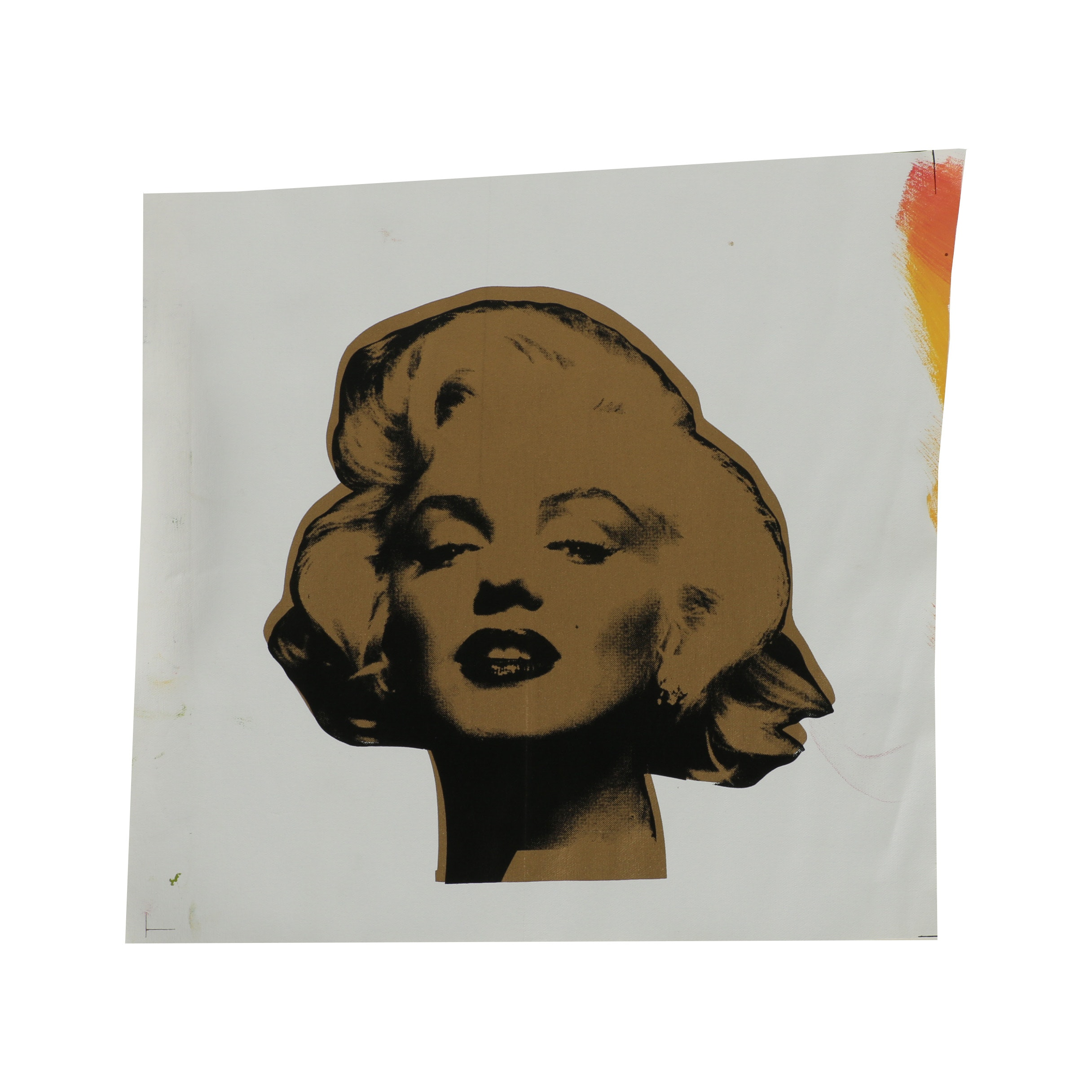"Steve Kaufman Serigraph ""Marilyn"""
