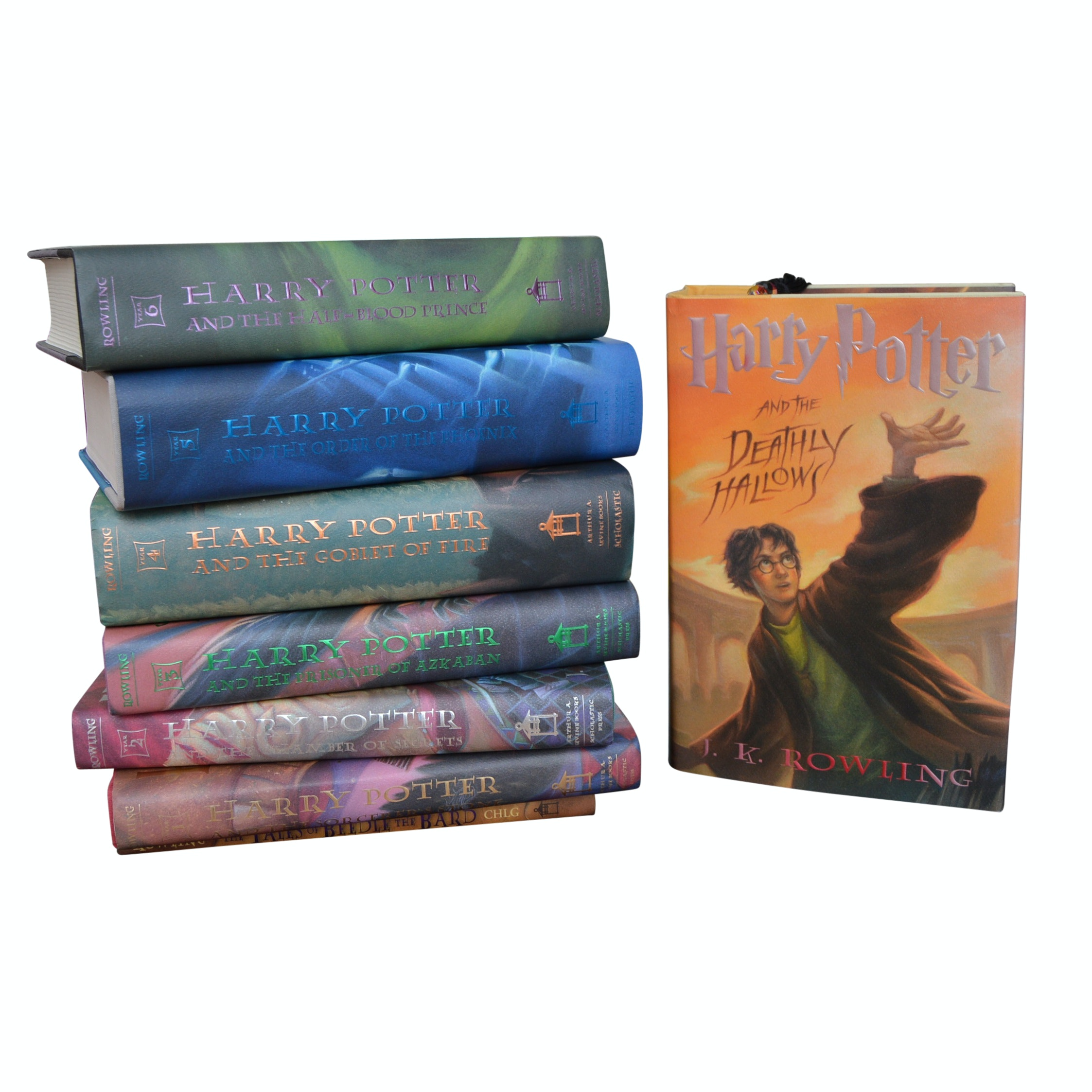 """Nine """"Harry Potter"""" Novels with First American Editions"""