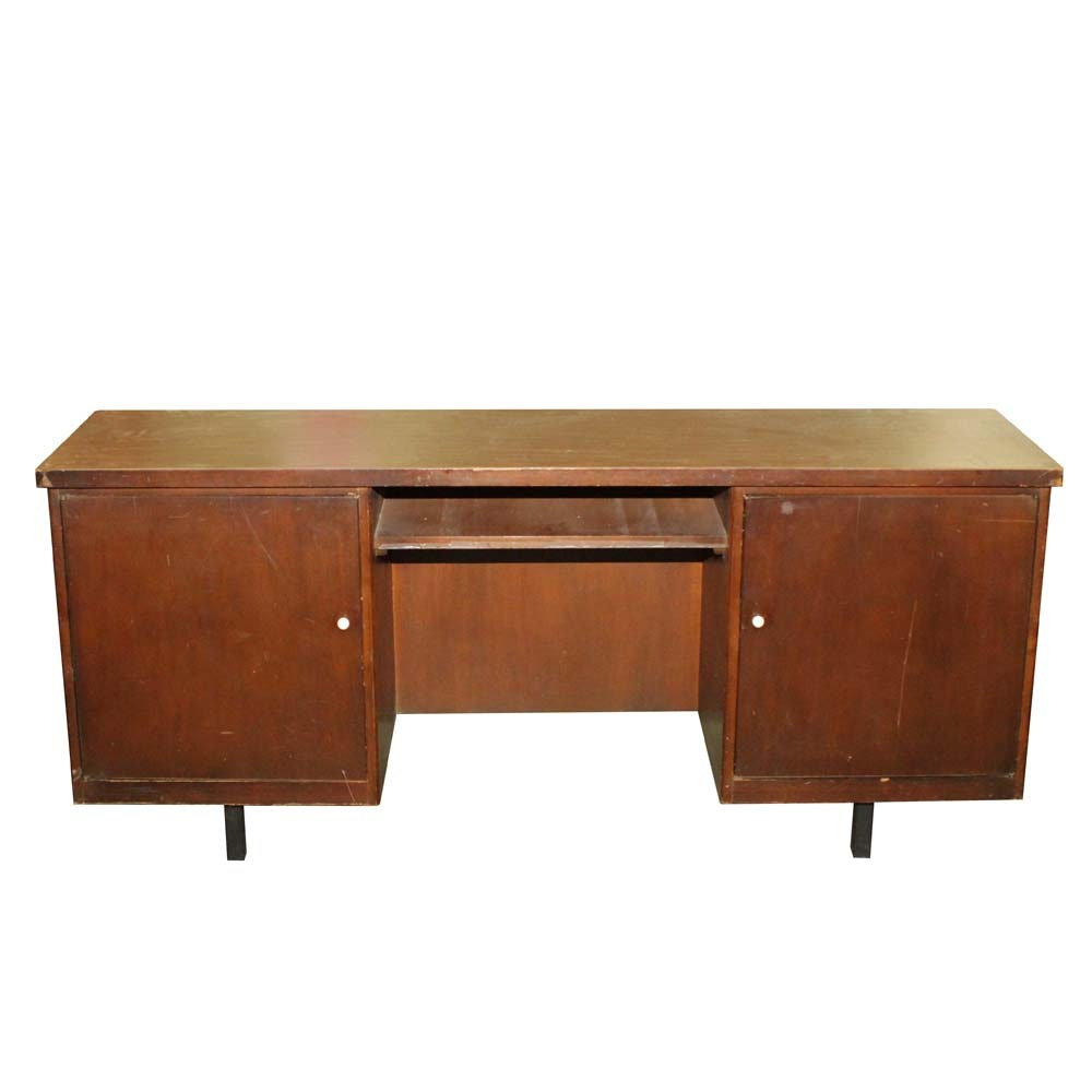 Vintage Mid-Century Modern Office Desk