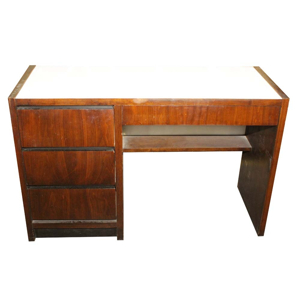 Lane Furniture Mid Century Modern Cherry Writing Desk