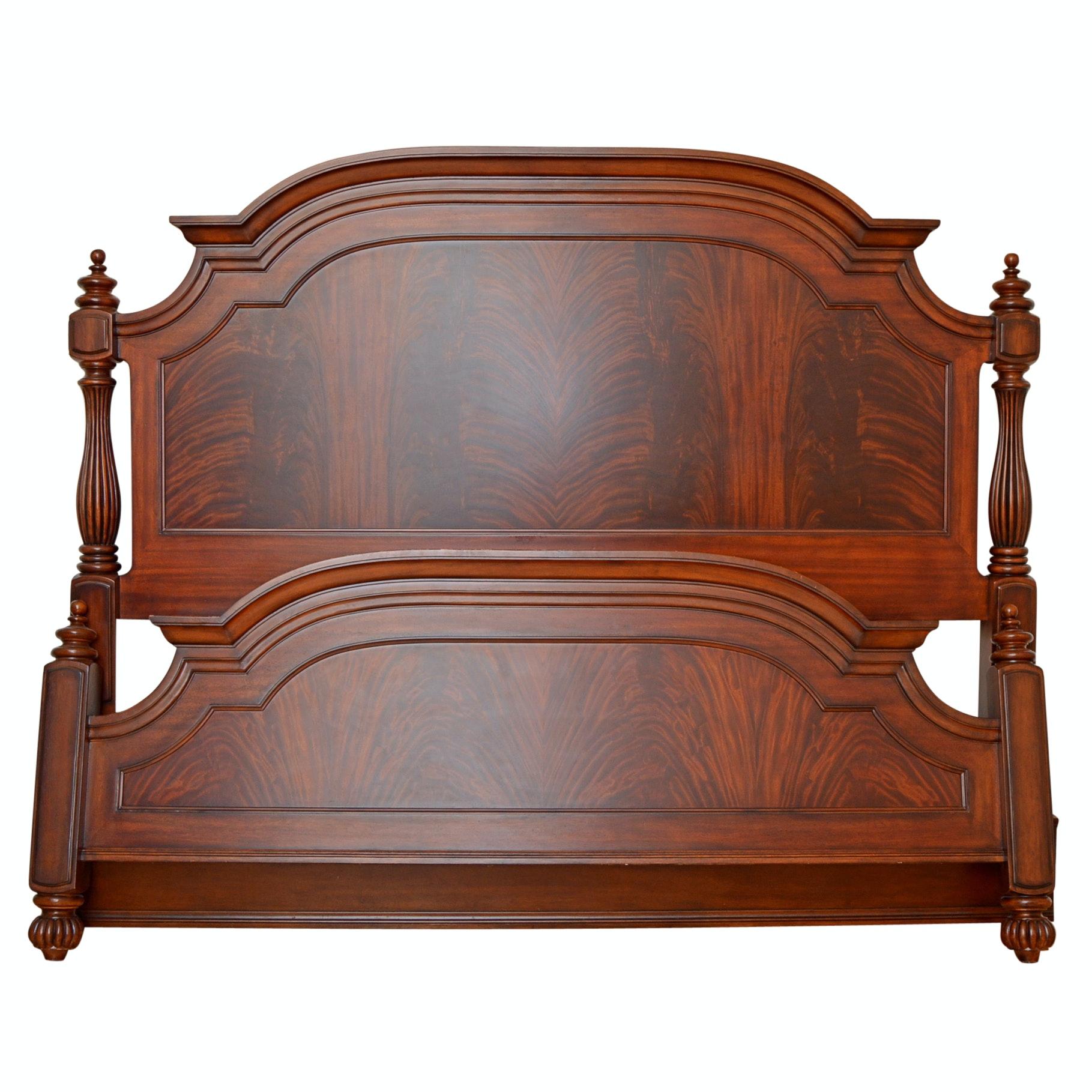 Mahogany King Bed Frame