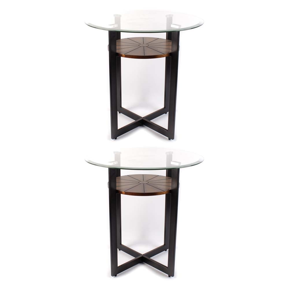 Contemporary Tiered Accent Tables