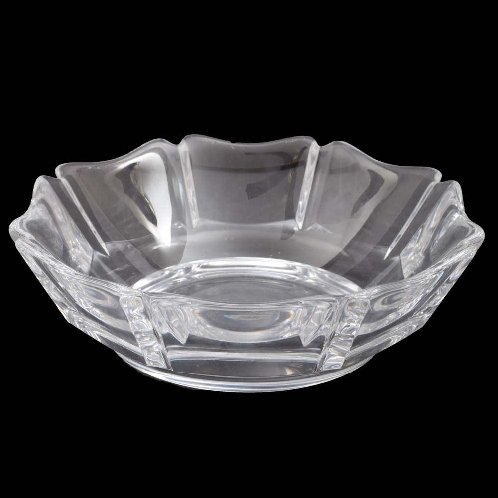"Orrefors Crystal ""Corona"" Bowl"