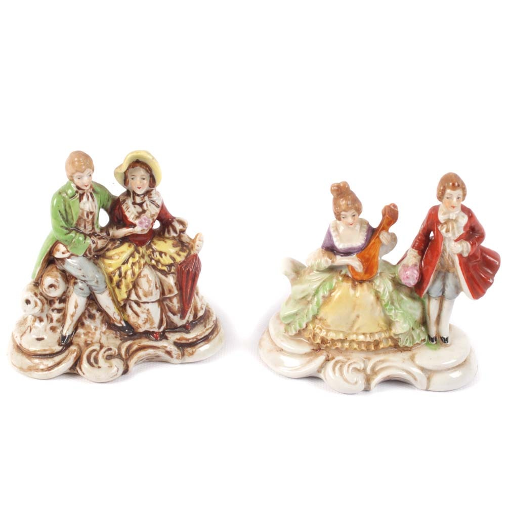 Vintage Occupied Japan Era Ceramic Collectibles including Maruyama