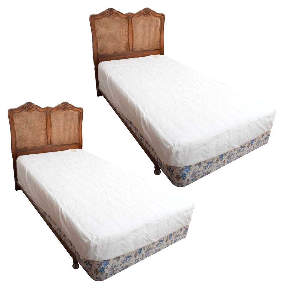 Pair of Vintage Twin Beds