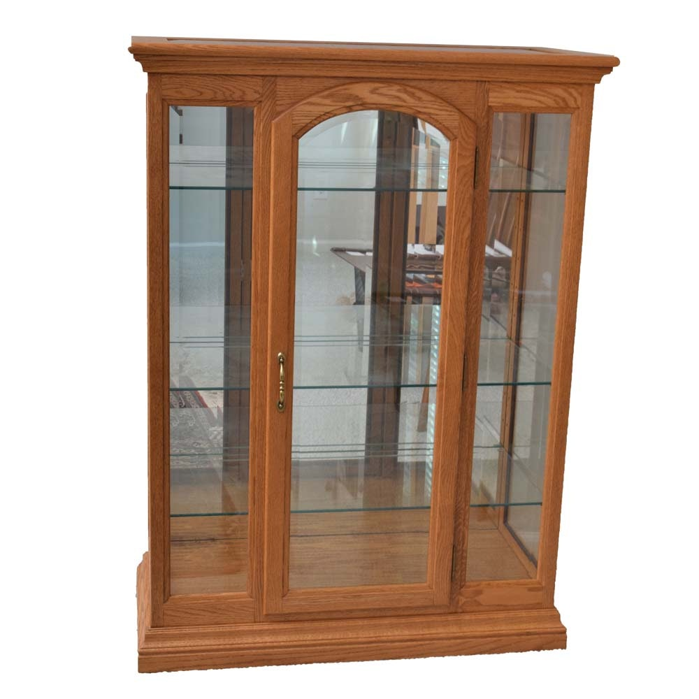 Glass Shelf Curio Display Cabinet