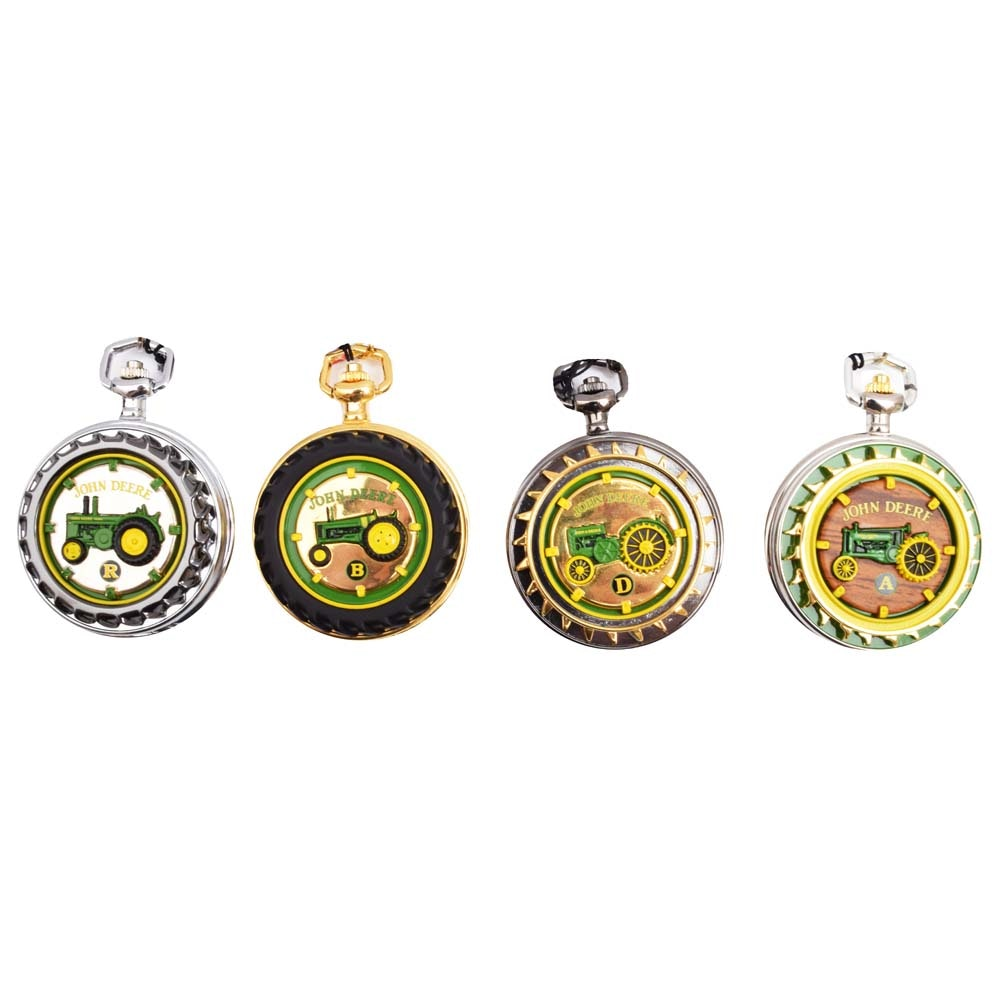 Collection of John Deer The Collectors Choice in Precision Pocket Watches