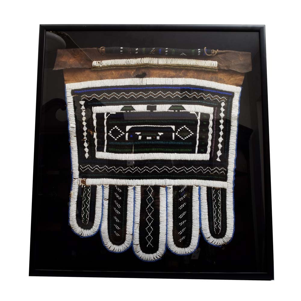 Ndebele Jocolo Cermeonial Five-Panelled Apron