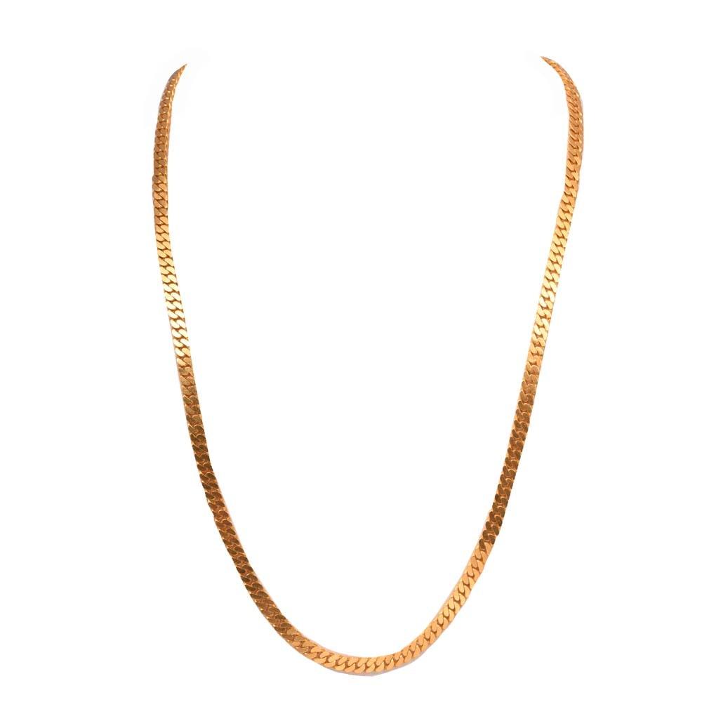 22K Yellow Gold Chain