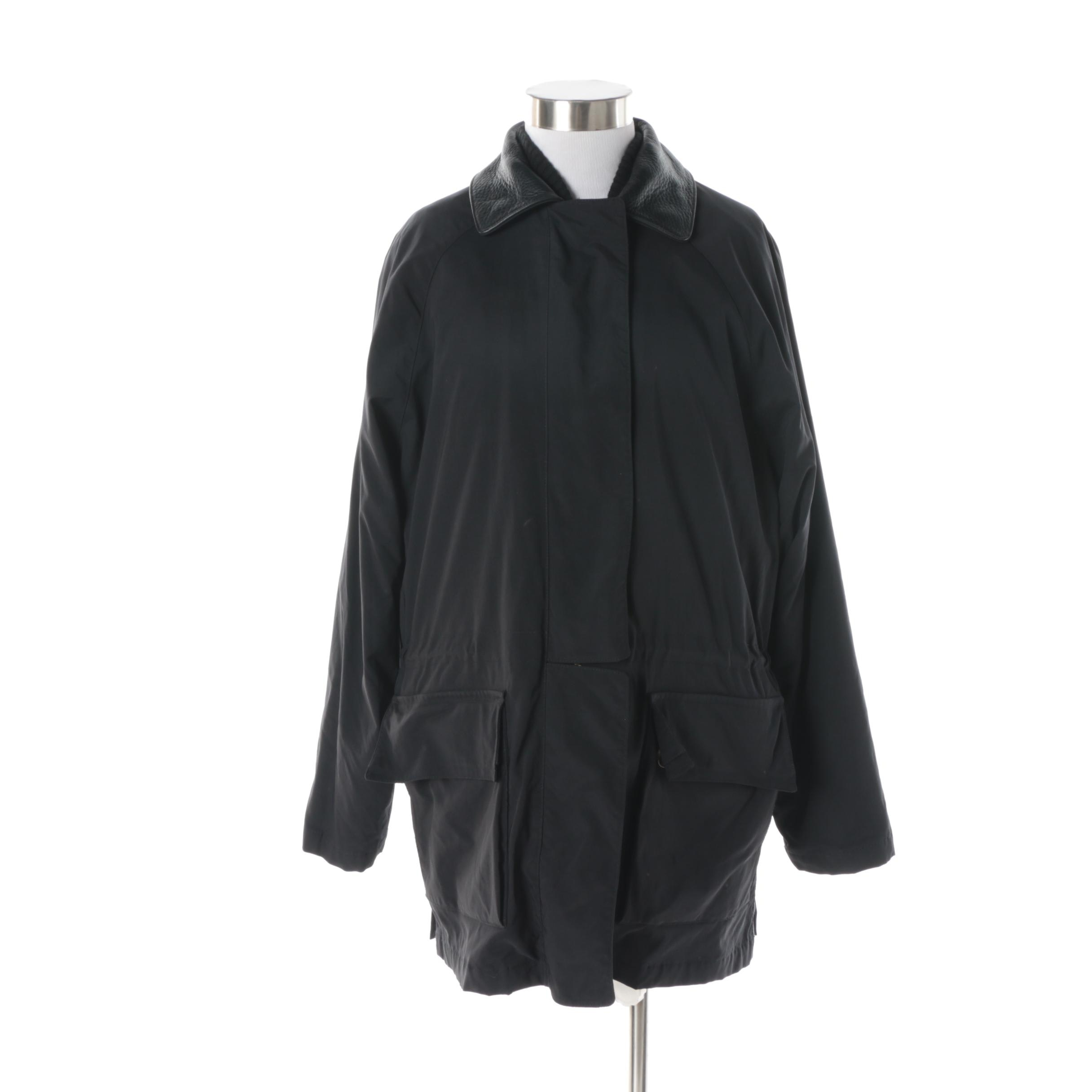 "Women's Vintage Loro Piana 1992 Olympic ""Horsey"" Jacket in Black"