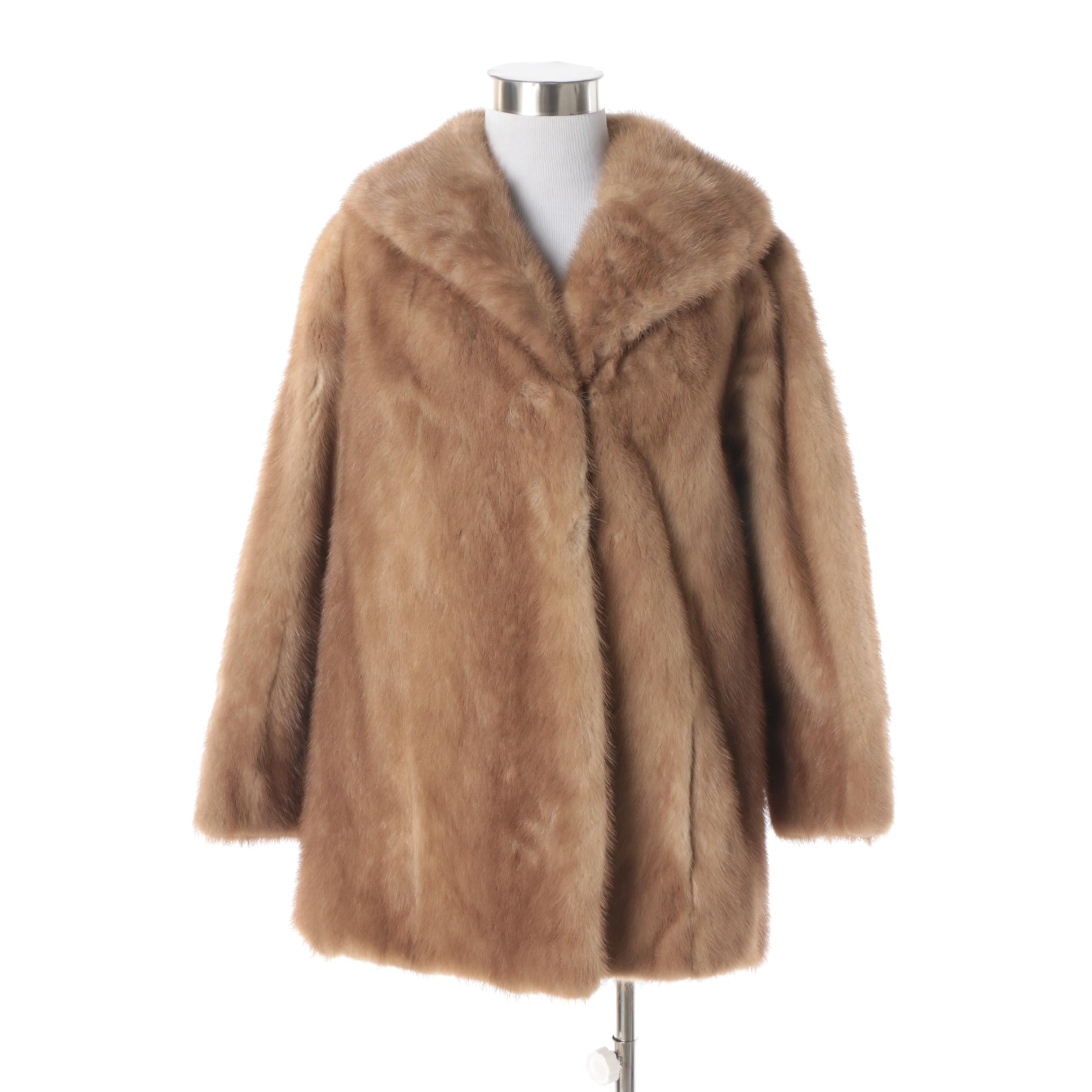 Women's Vintage William A. Lewis Mink Fur Coat
