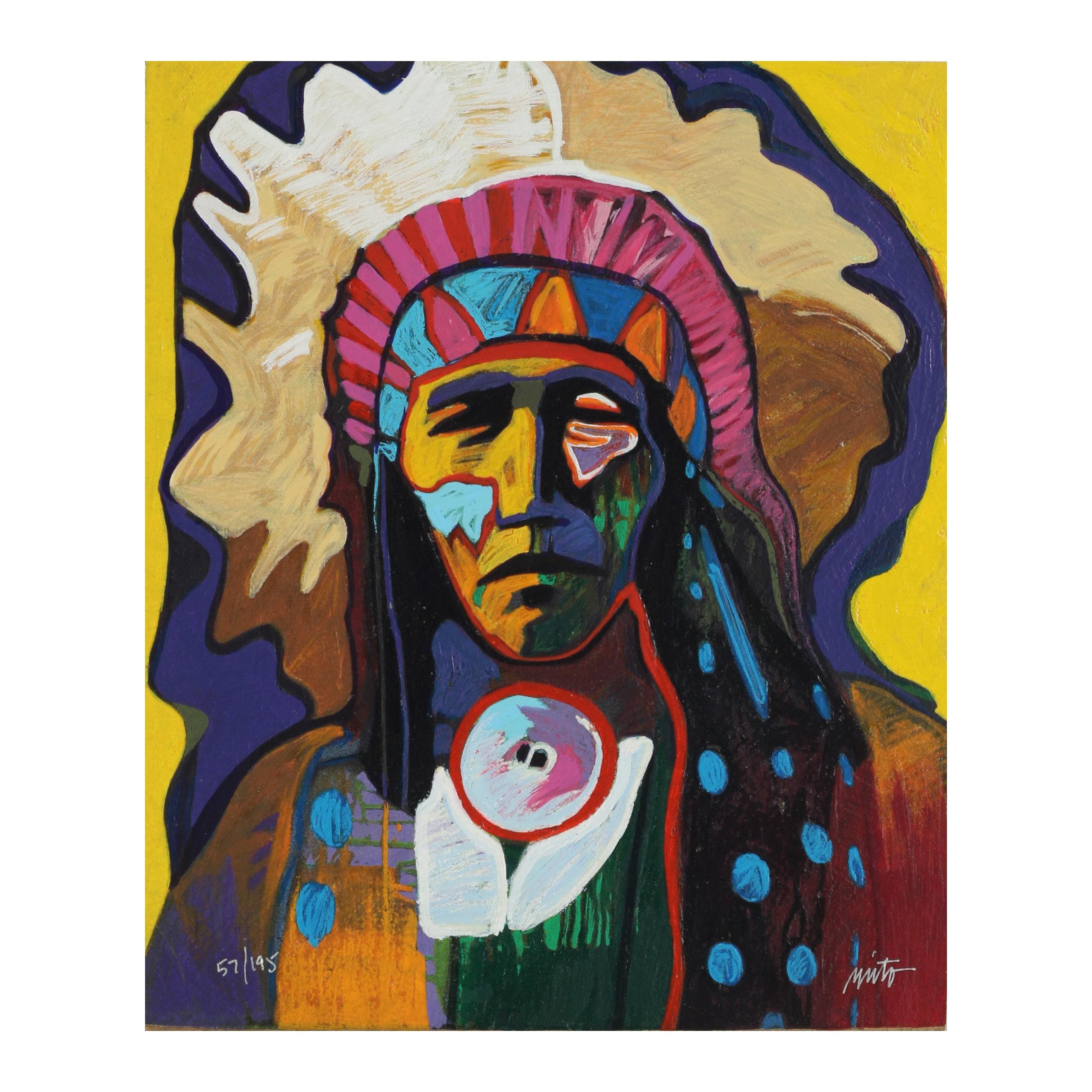 "John Nieto Serigraph ""Wild Horse"""