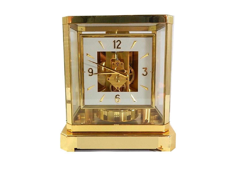 LeCoultre Cie Swiss Atmos Brass Mantle Clock