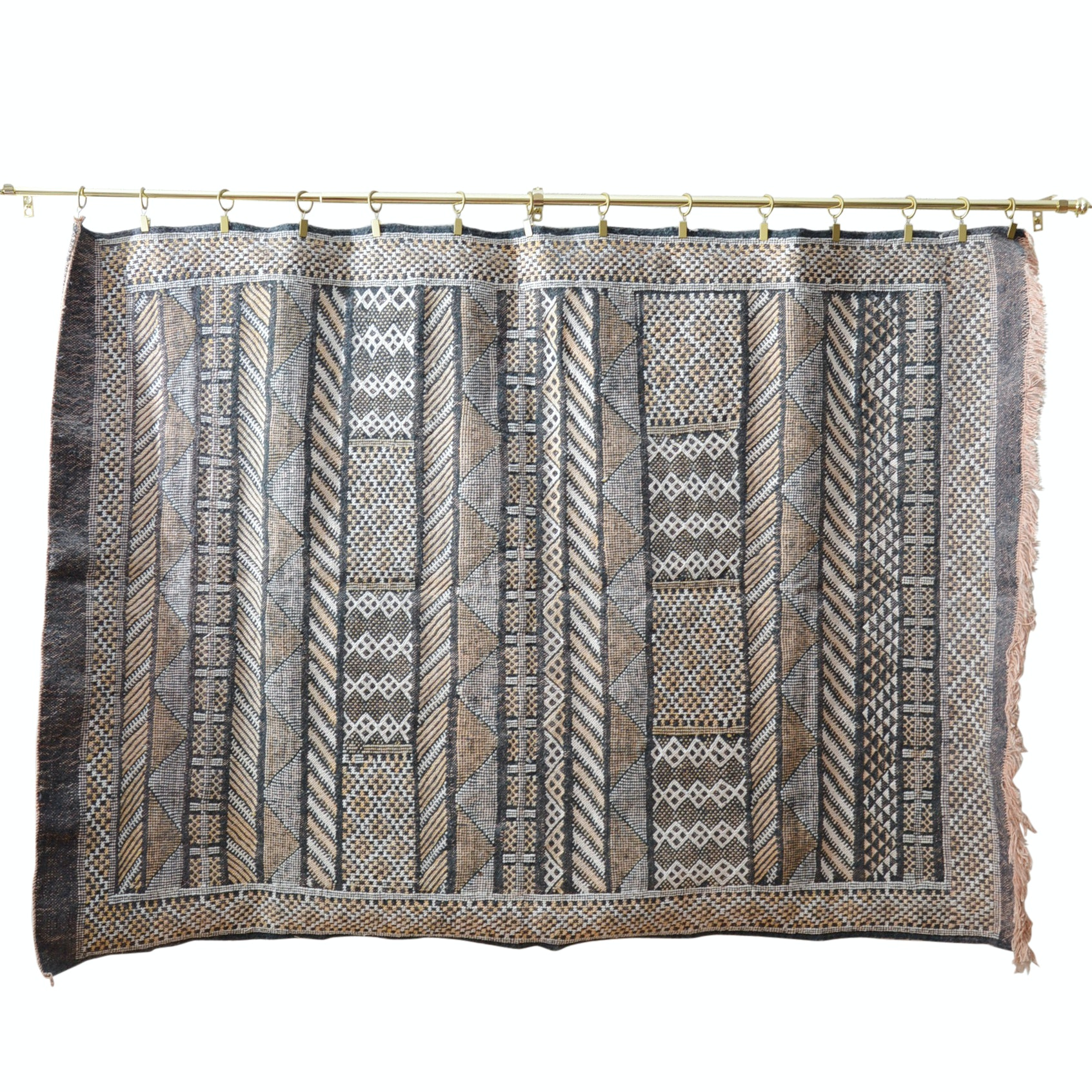 Hand Woven Wool Wall Tapestry