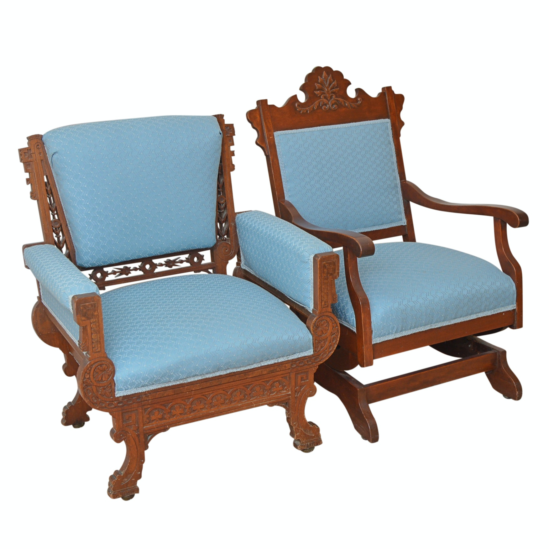 Pair of Victorian Renaissance Revival Chairs