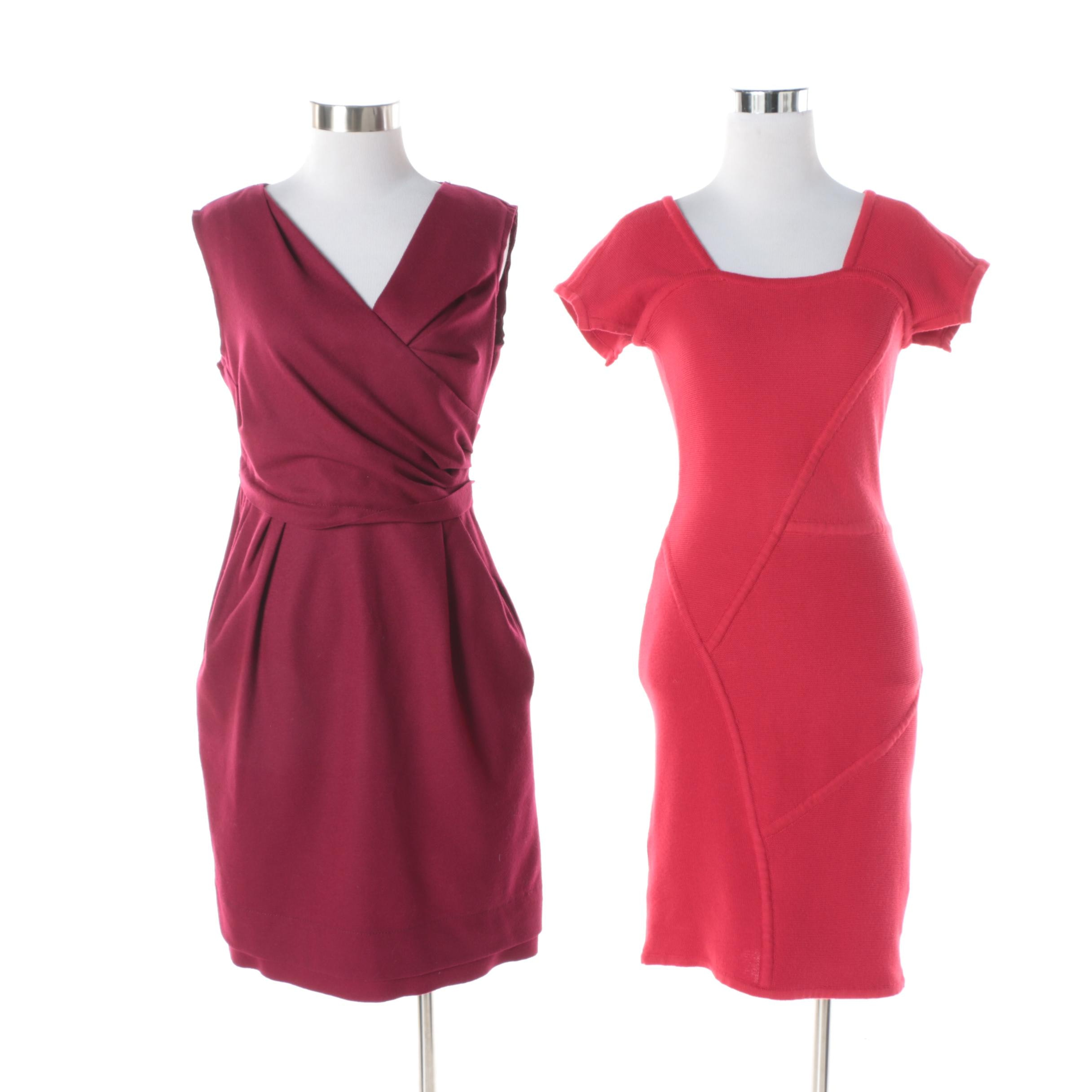 Diane von Furstenberg and Yigal Azrouël Dresses