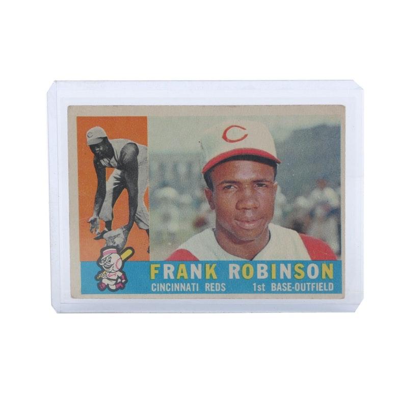 1960 Topps #490 Frank Robinson Trading Card