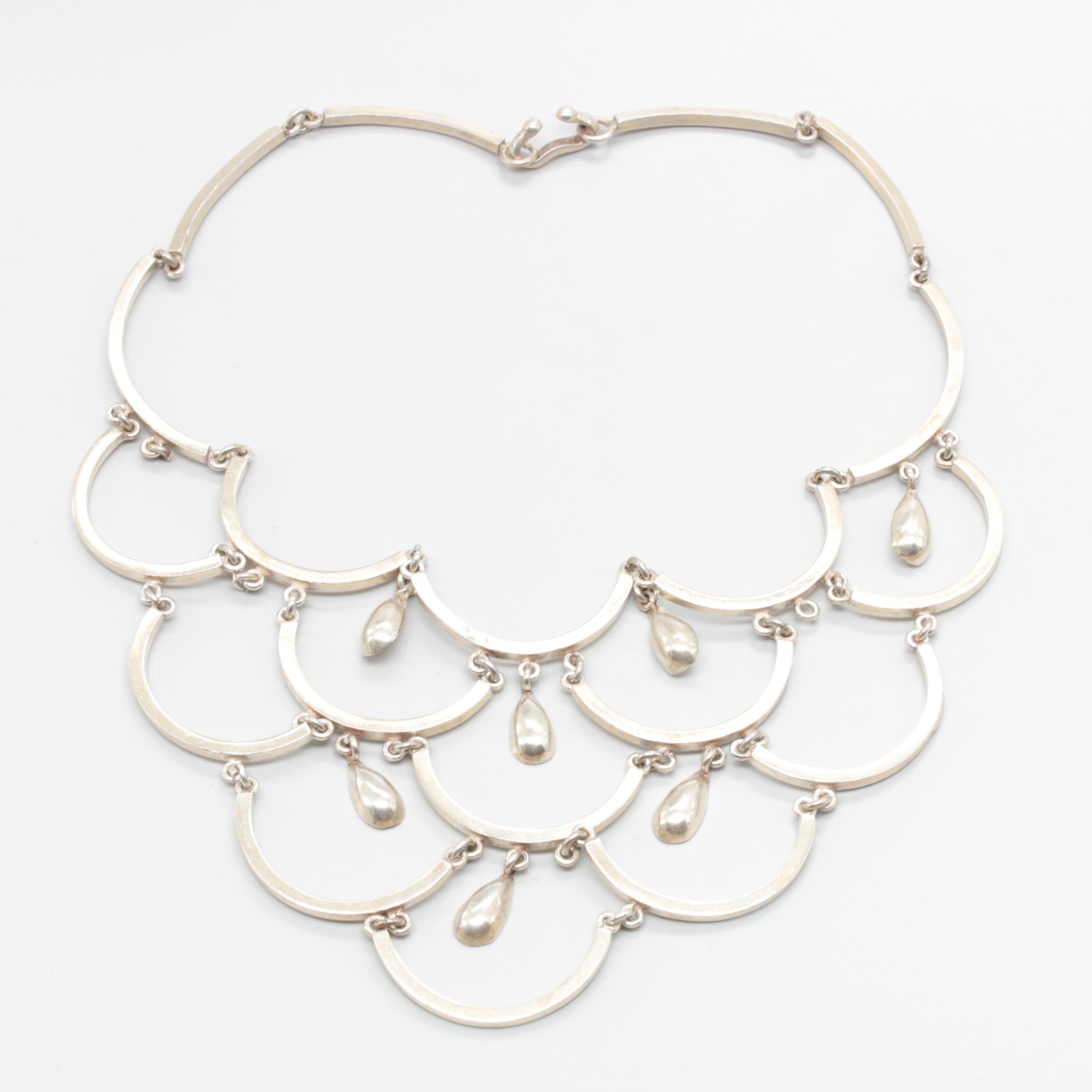 Talleres De Los Ballesteros Sterling Silver Necklace