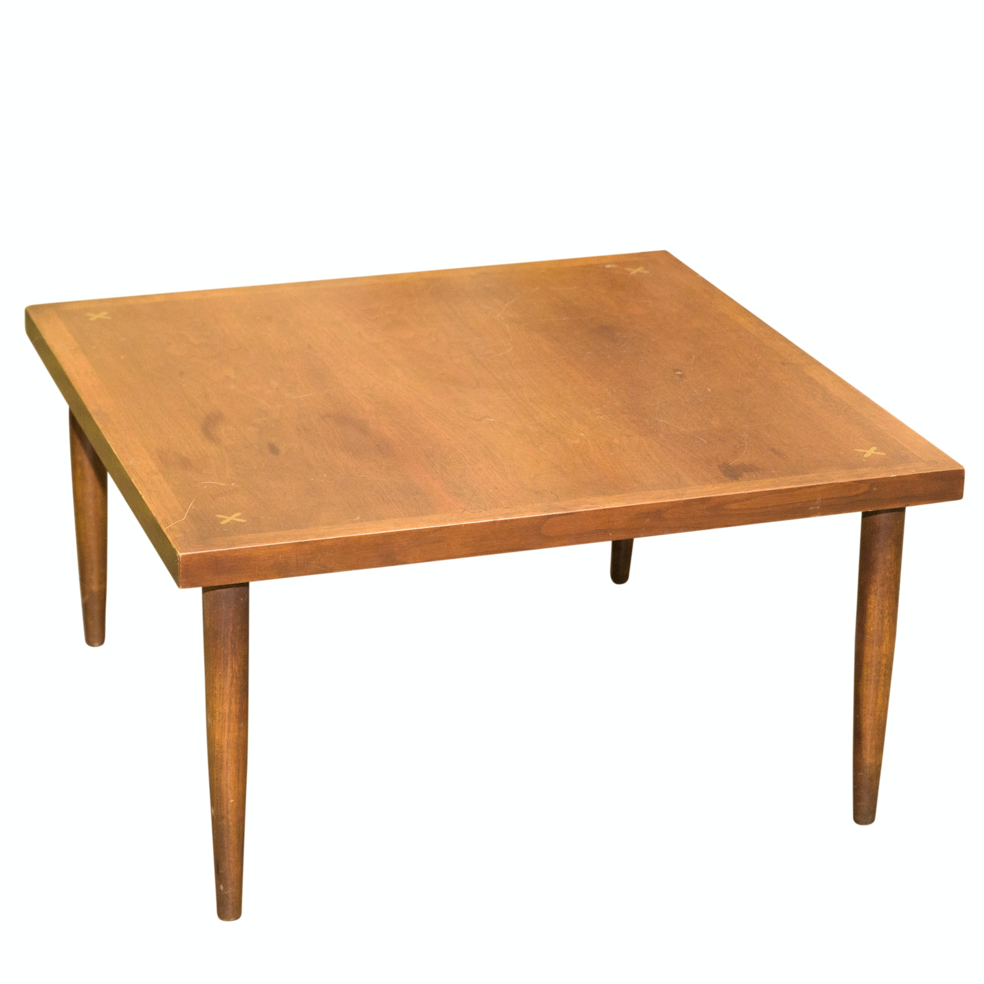 Mid Century Modern Walnut Cocktail Table by American of Martinsville