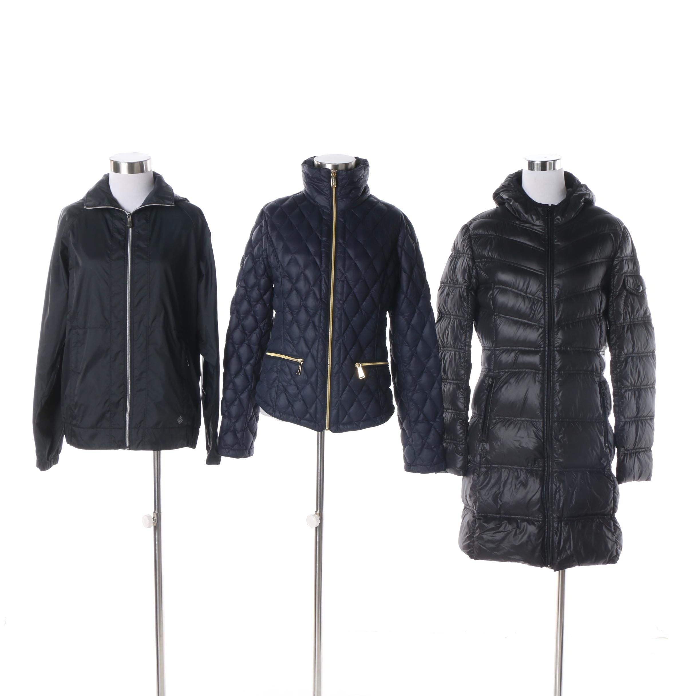 Women's Puffer Coats and Windbreaker Including MICHAEL Michael Kors