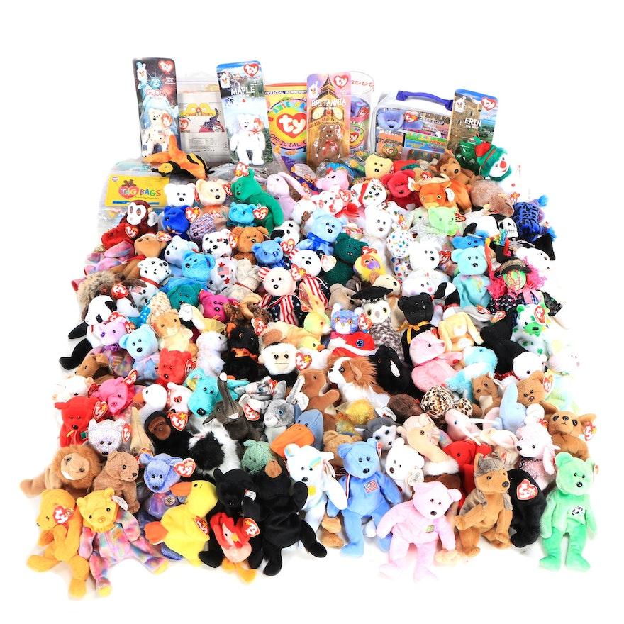 Ty Beanie Babies including Ronald McDonald House International Bears   EBTH 08f9fcdf7e0
