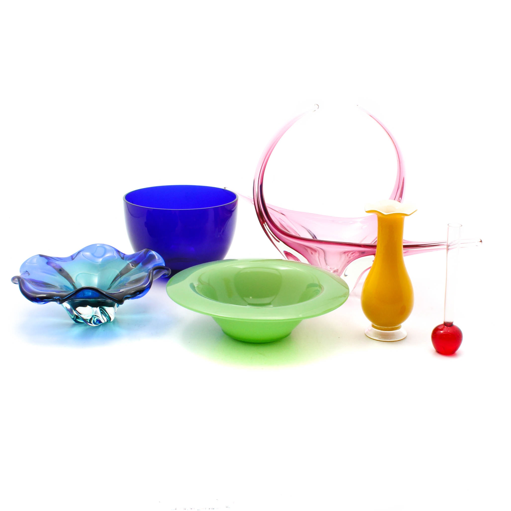 Art Glass Tableware Collection including Villeroy & Boch