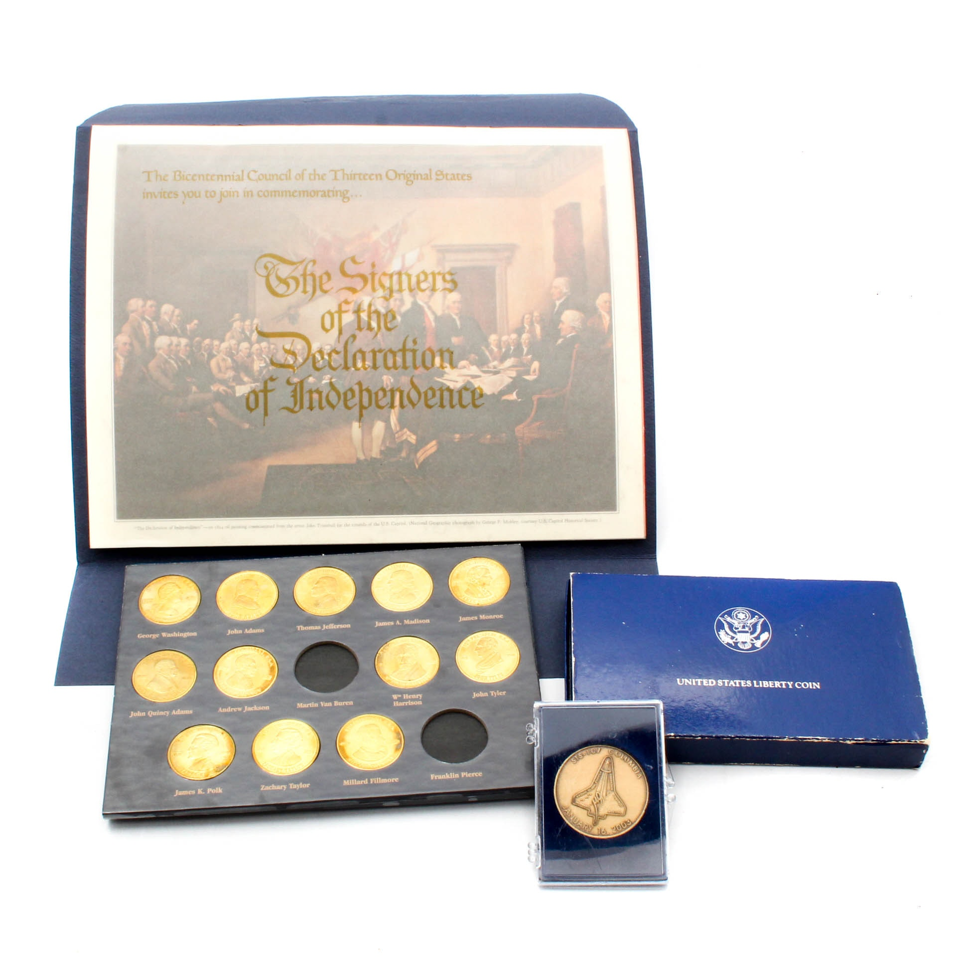United States Medals and Commemorative Coins