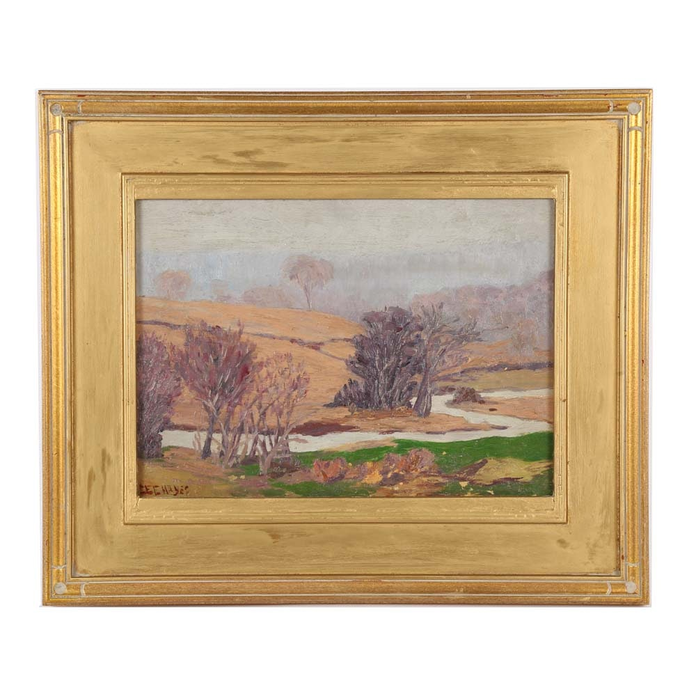 Lee Hayes Oil Painting of Landscape