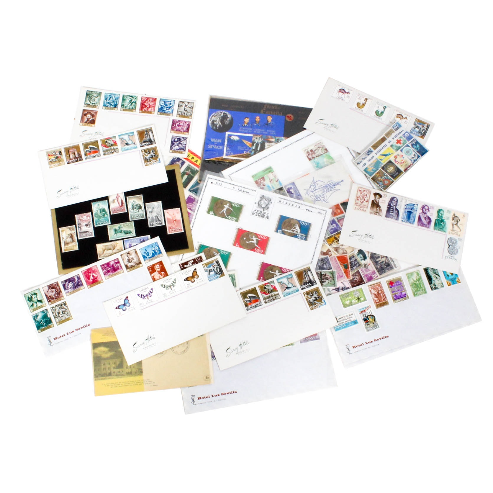 Extensive Domestic and International Stamp Collection