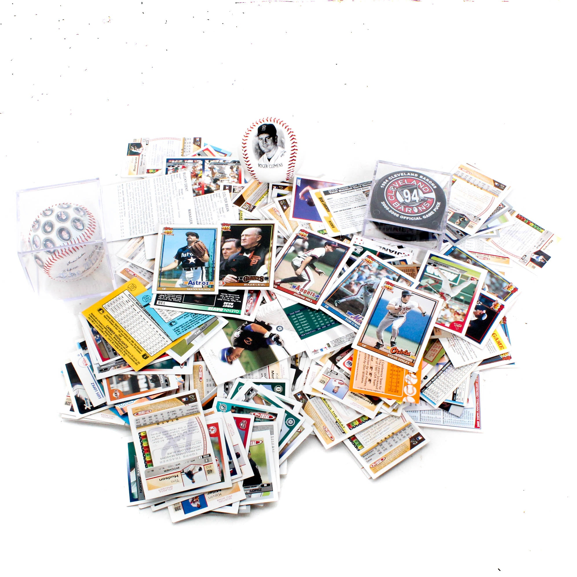 Baseball, Football, and Basketball Trading Cards and Sports Memorabilia