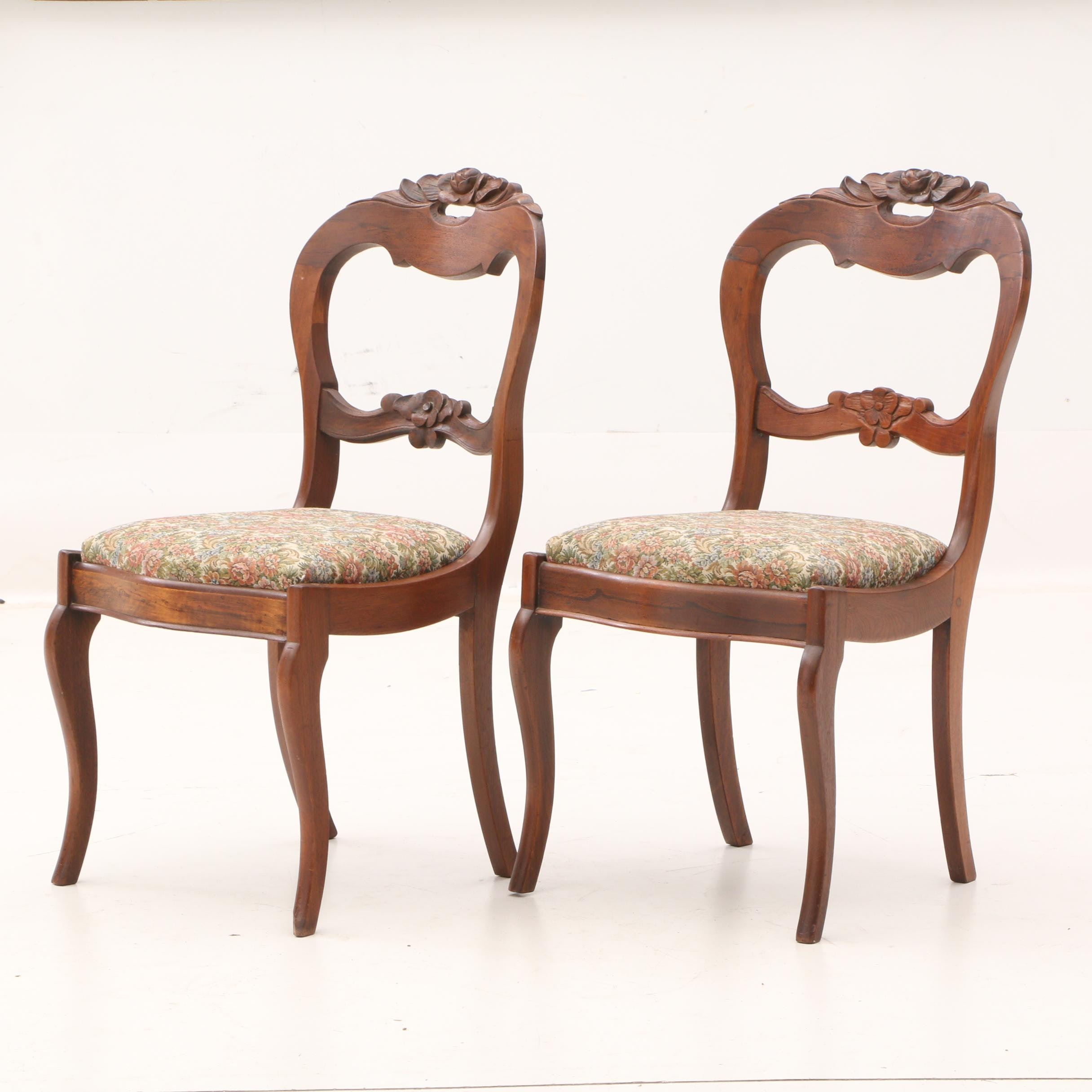 Antique Victorian Side Chairs