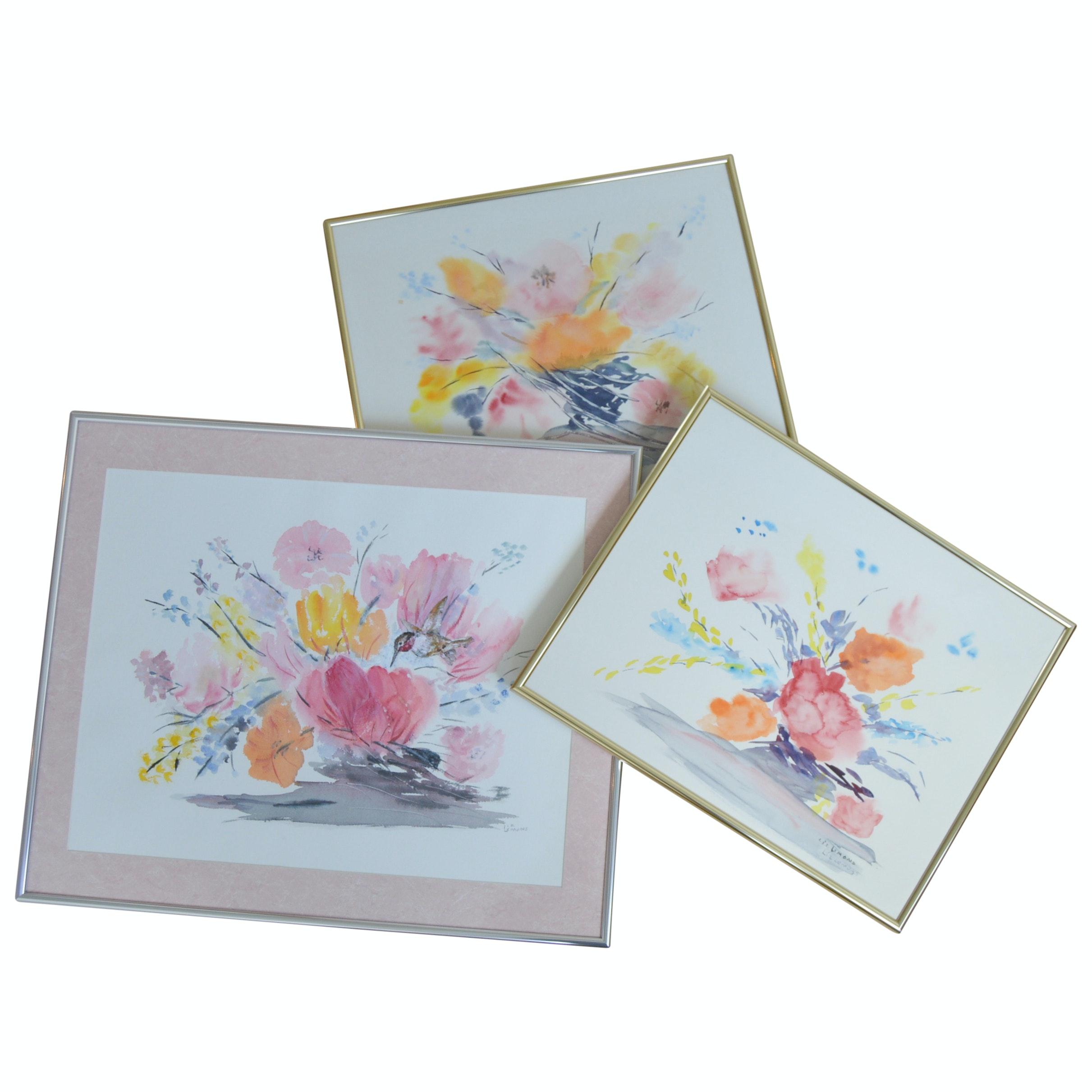 Liz Lemons Original Watercolors