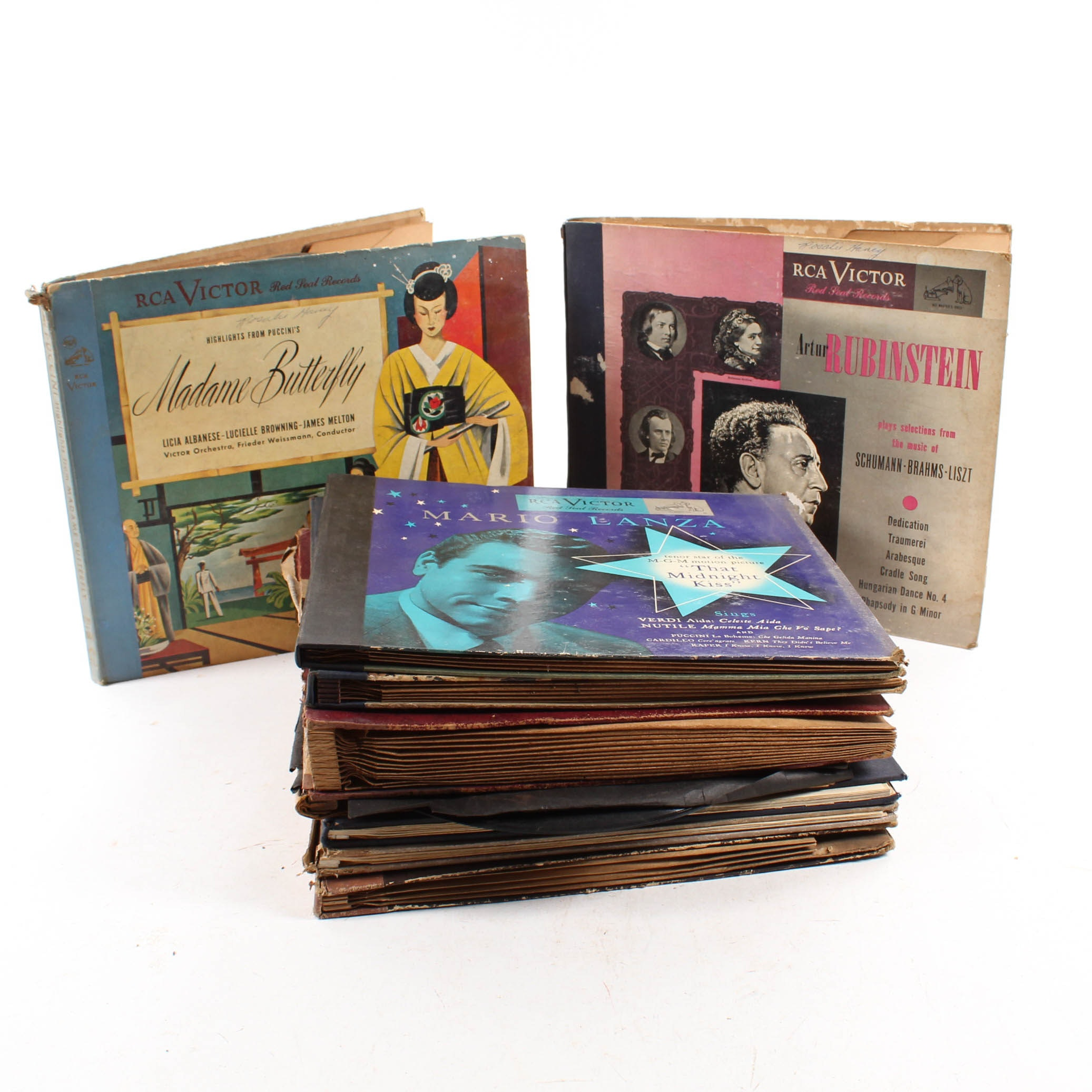 Vintage Classical and Opera 78 RPM Records