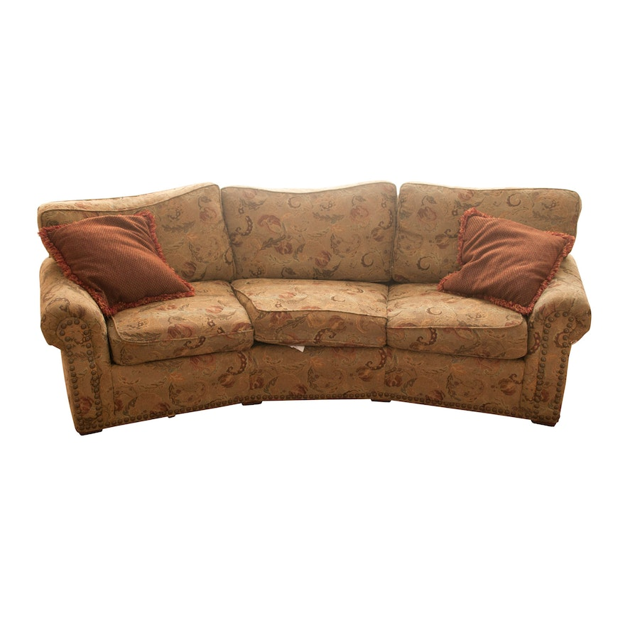 Norwalk Leather Sofa: Sofas With Spring Down Cushions