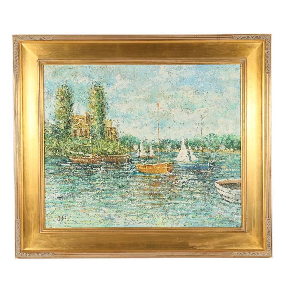Richaud Oil Painting on Canvas