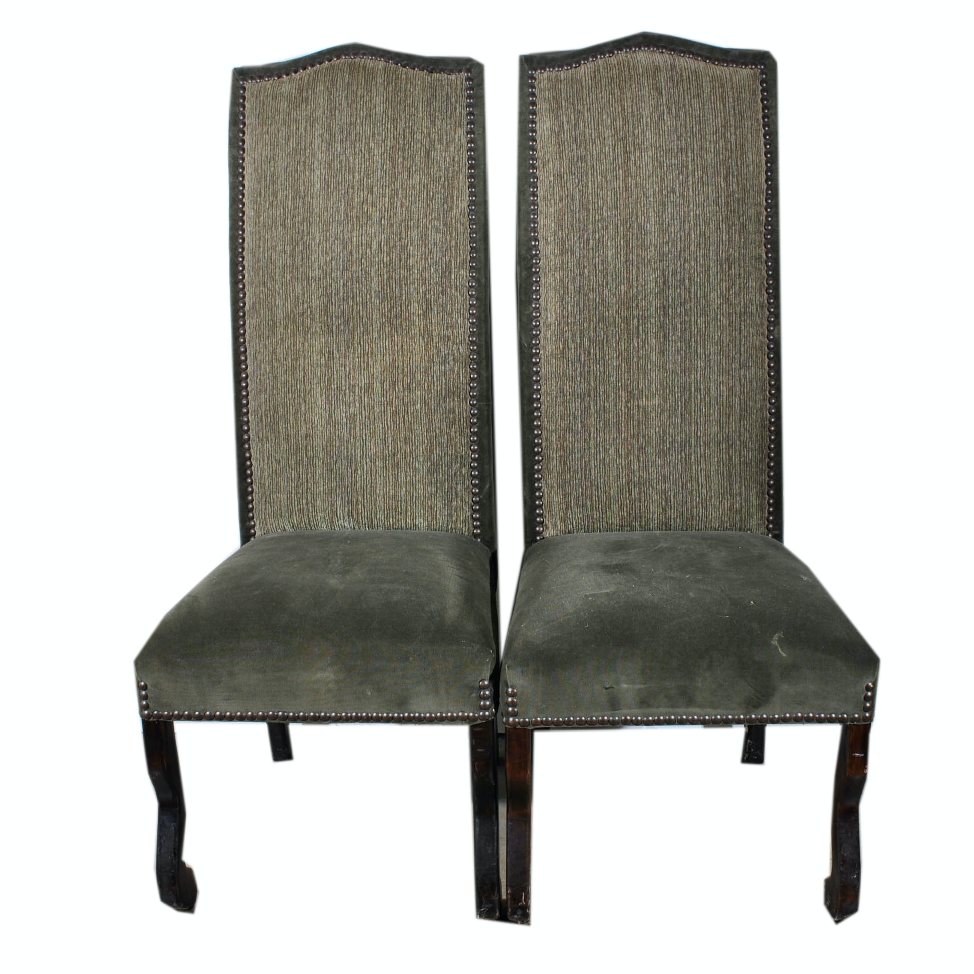 Vintage Upholstered Side Chairs
