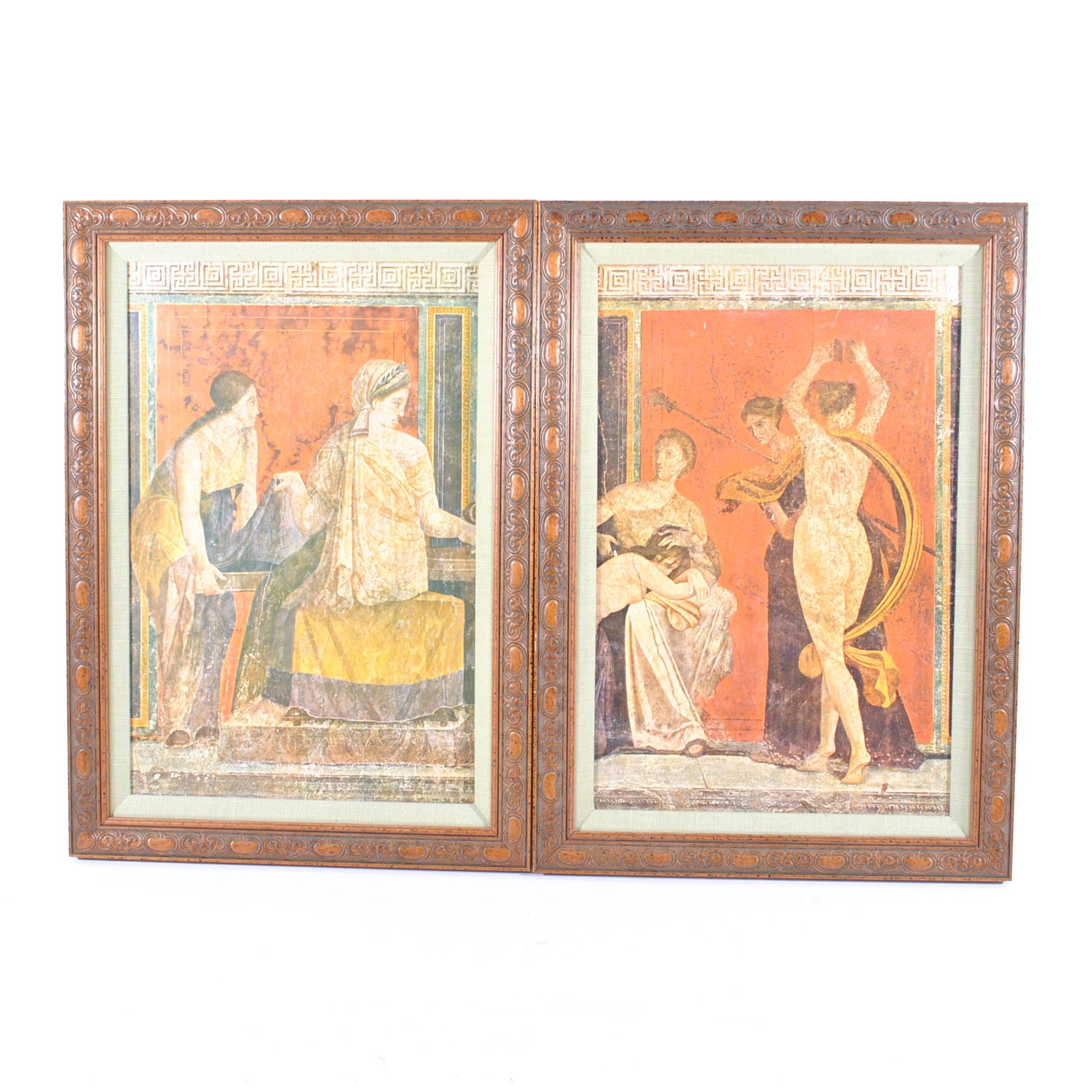 Two Grecian Prints