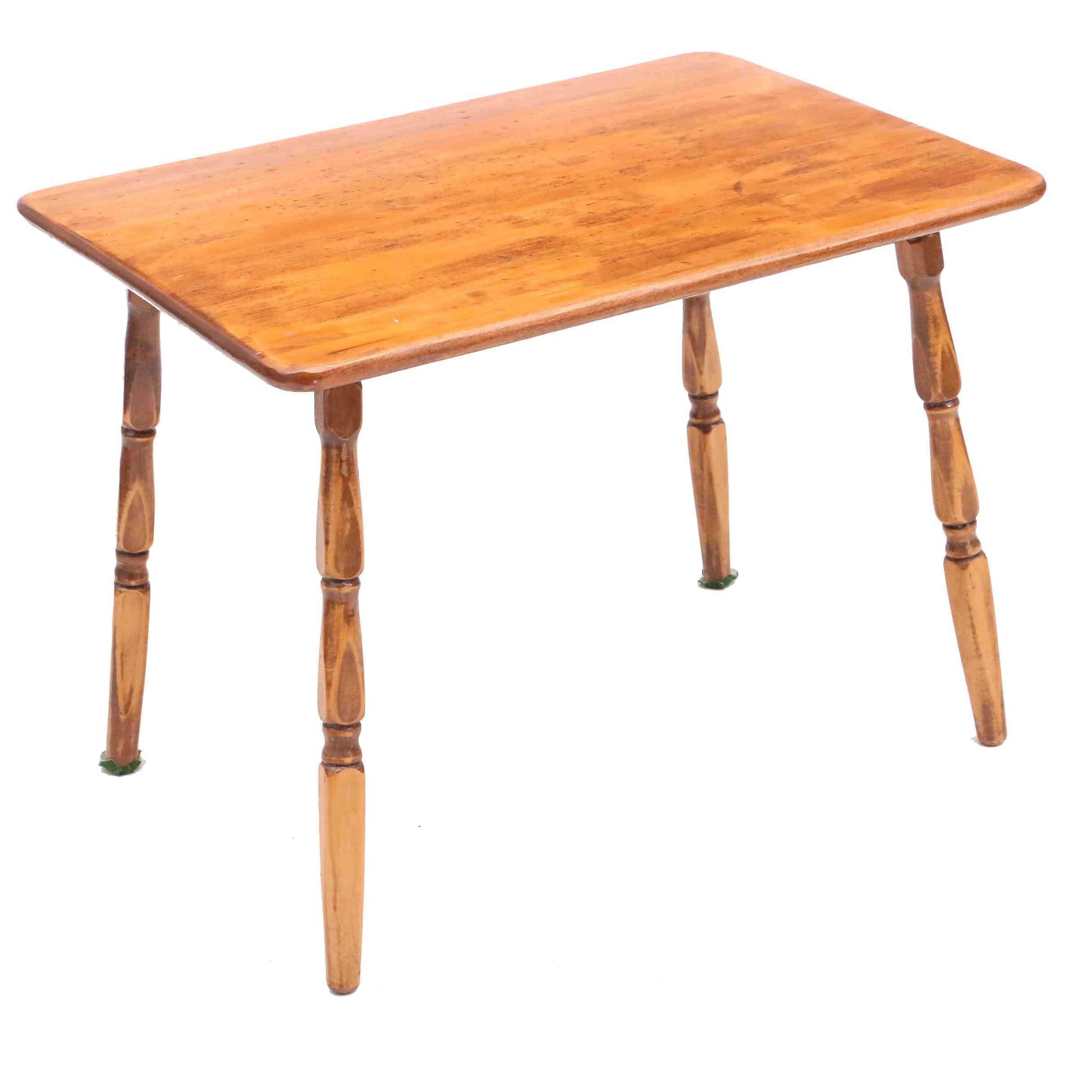 Vintage Maple End Table