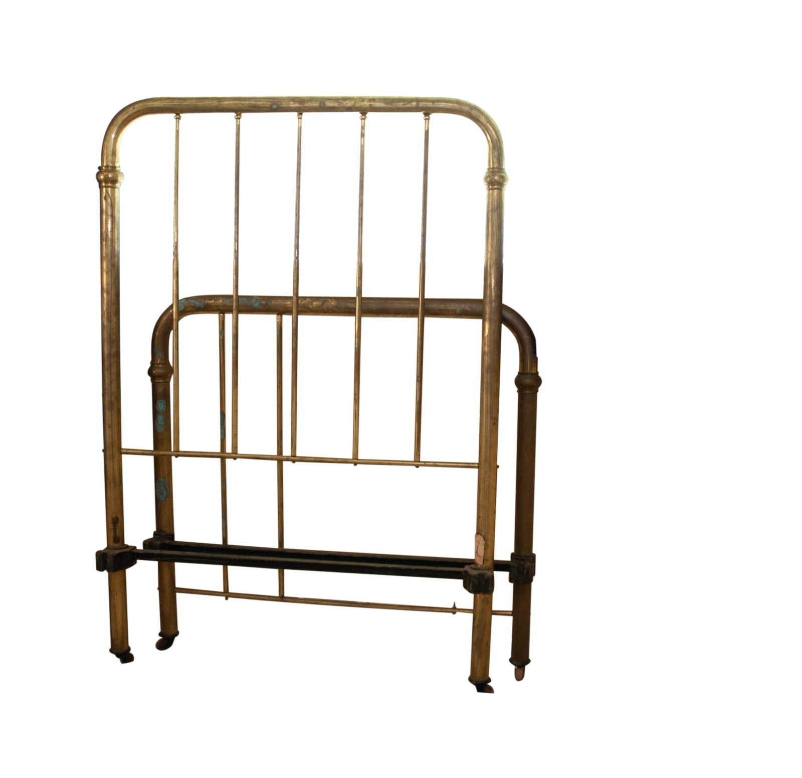 Antique Brass Twin Bed Frame