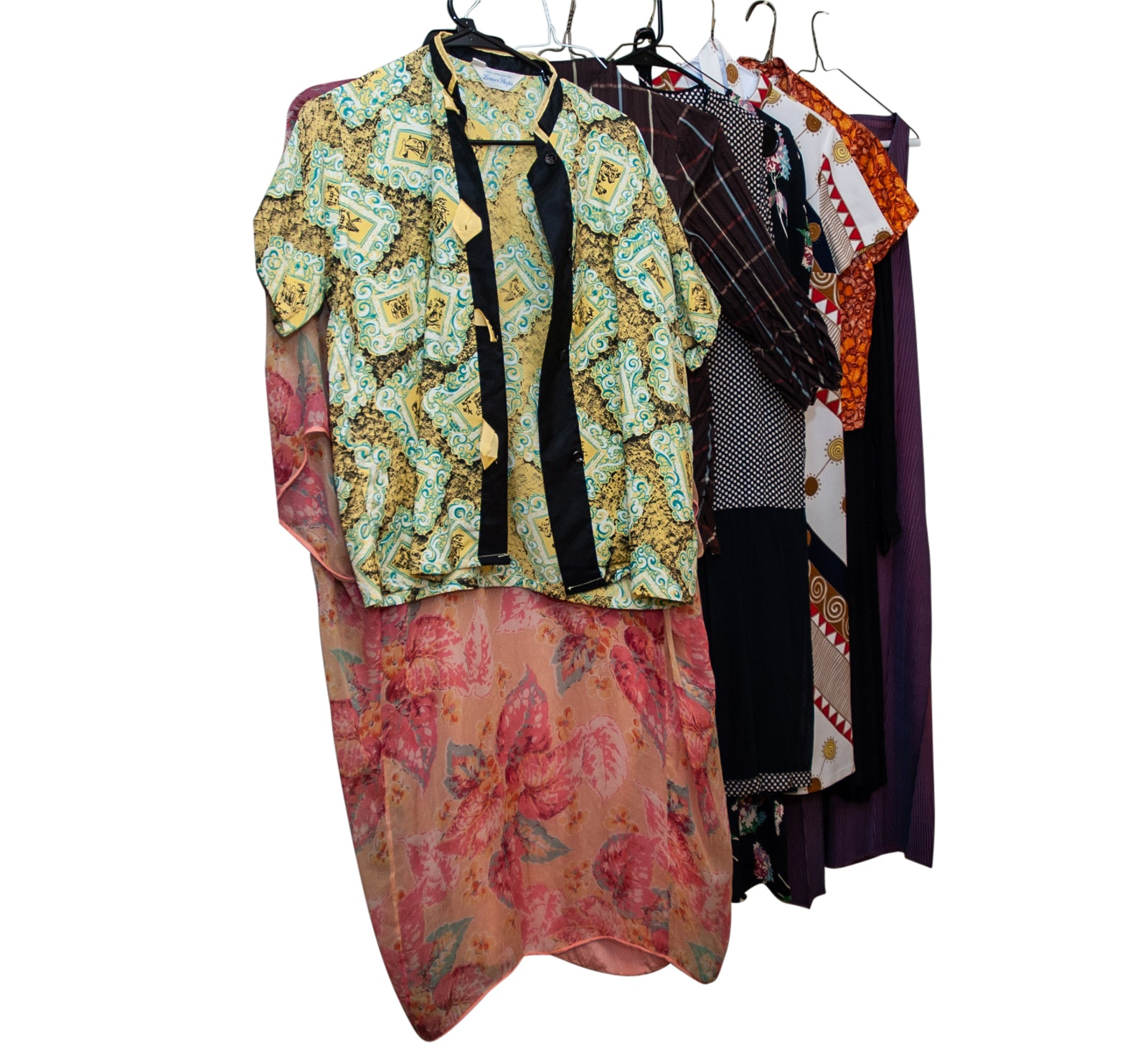 Vintage Silk and Rayon Dresses and Separates