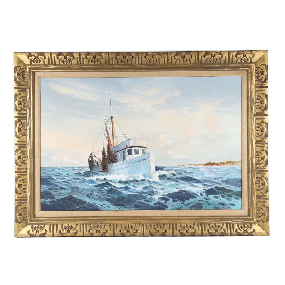 Robert Wheeler Oil Painting on Canvas
