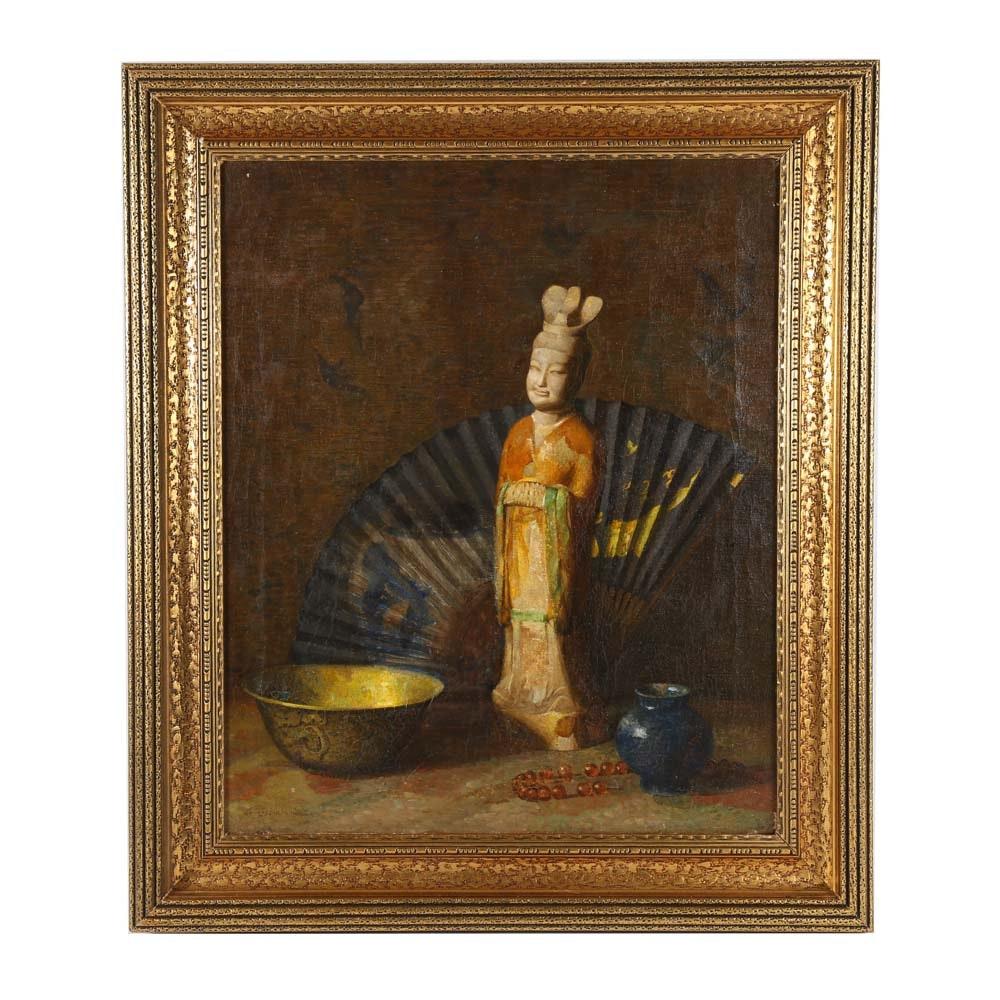 LeRoy Ireland Oil Painting on Canvas
