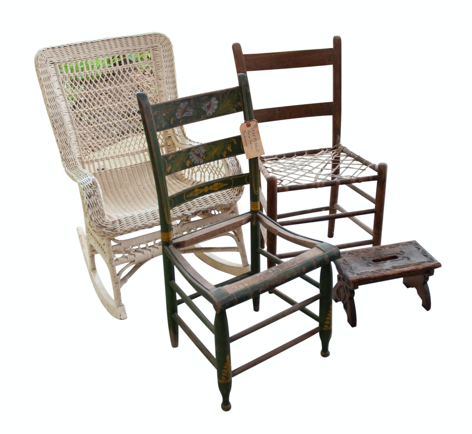 Vintage and Antique Assortment of Project Chairs