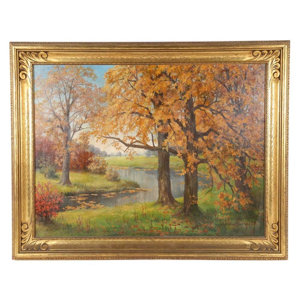 Adriann Martin De Groot Oil Painting on Canvas
