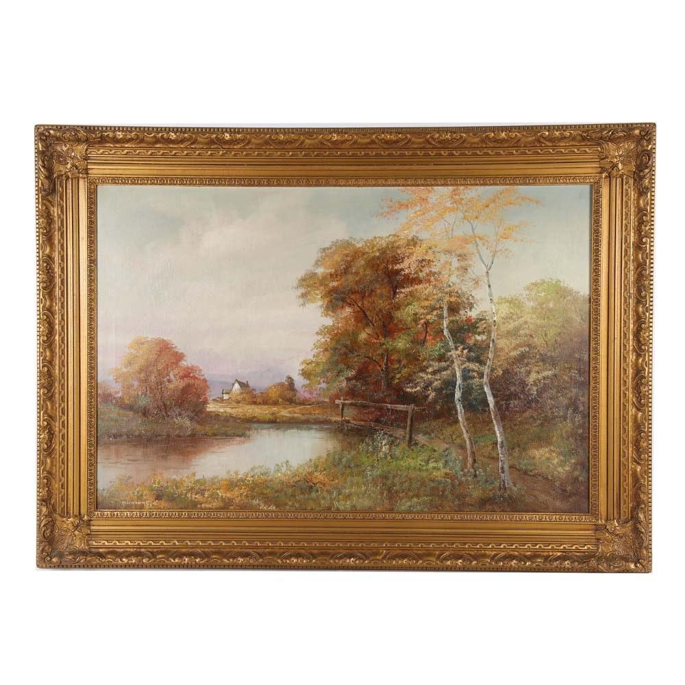 Dumond Oil Painting on Canvas