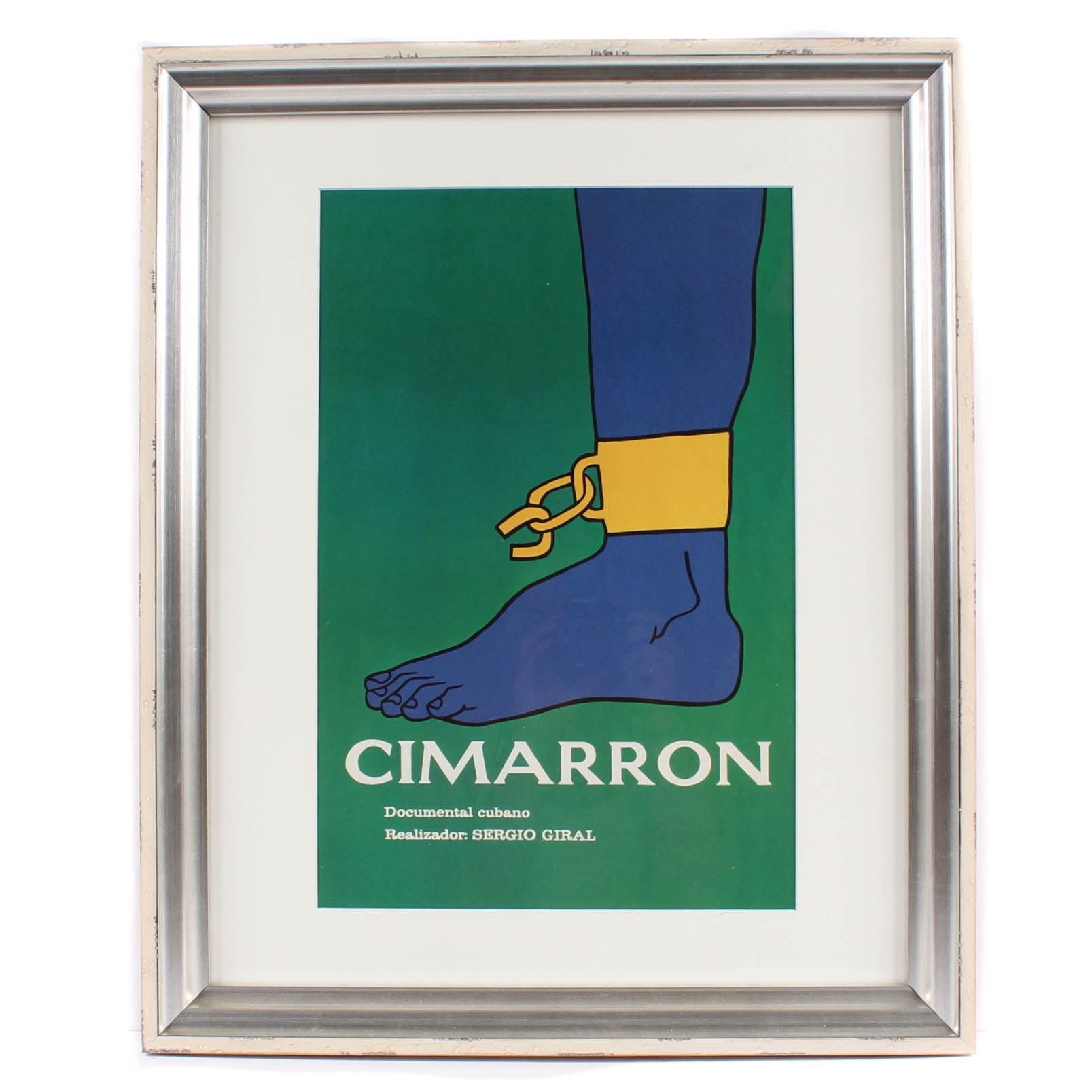 "Cuban Revolutionary Lithograph ""Cimarron"" from ""The Art of Revolution""Edit"